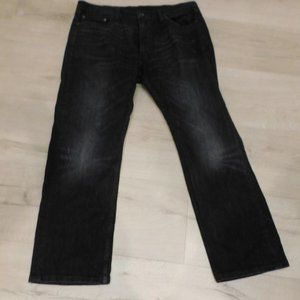 Levi's 505 Black Faded Black Label Mens Jeans 38